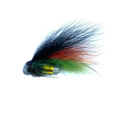 Black, Orange & Green