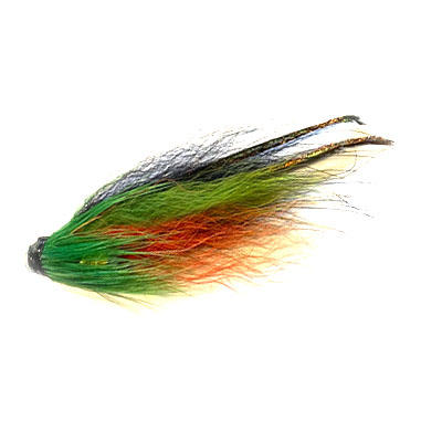 Peacock Black Green & Orange